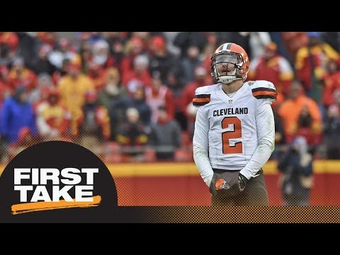 First Take reacts to Johnny Manziel Good Morning America exclusive interview | First Take | ESPN