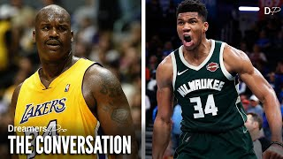 Is Giannis Antetokounmpo the Modern day Shaquille O'Neal?