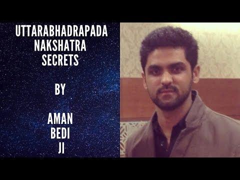Uttarabhadrapada Nakshatra Secrets By Aman Bedi Ji