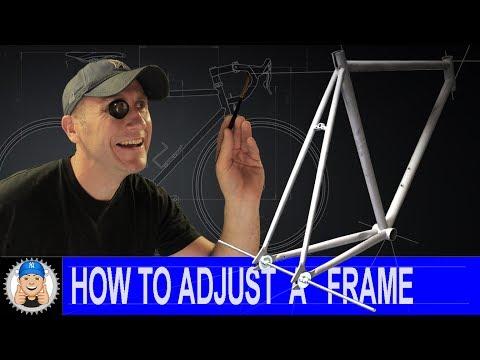 How to Adjust Spacing on a Bike Frame