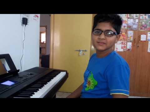 Nilavade Madi Nilavade on Keyboard - Satamanam Bhavati - Dedicated to S.P Balasubramanayam Garu