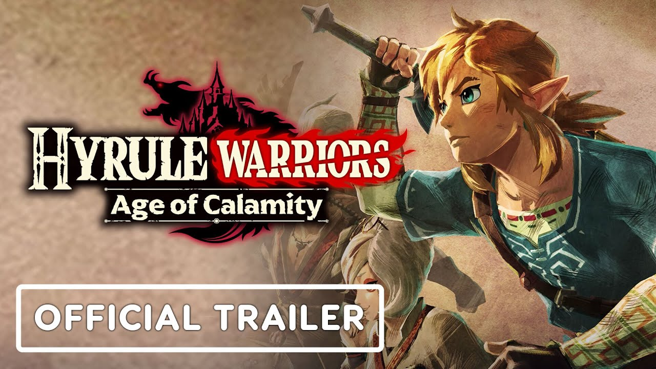 Hyrule Warriors Age Of Calamity Official Dlc Expansion Pass Trailer Nintendo Direct Youtube