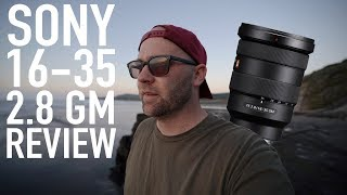 Sony 16-35mm 2.8 GM - Honest Review with Samples + Test for Vlogging