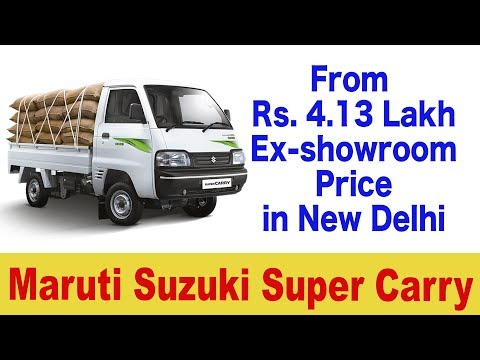 Maruti Suzuki Trucks In India Videoclip