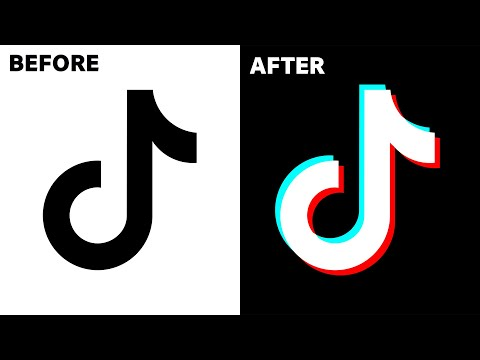 Insanely Easy Way To Recreate The Tiktok Logo Effect Youtube