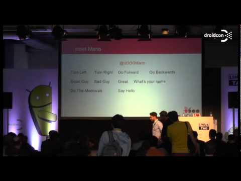 droidcon 2014: Making with Android: Unleashing the interactive green robot with UDOO