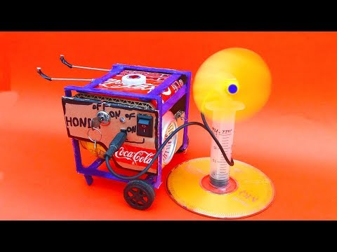 Amazing Generator For DC Motor | How To Make A Electric Generator At Home | Powerful Generator DIY