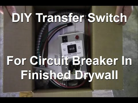 ricksdiy heezy hts15 man generator transfer switch install on rh youtube com