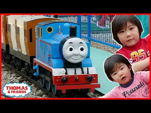 Thomas & Friends Train Kids Rides Toys in Real Life