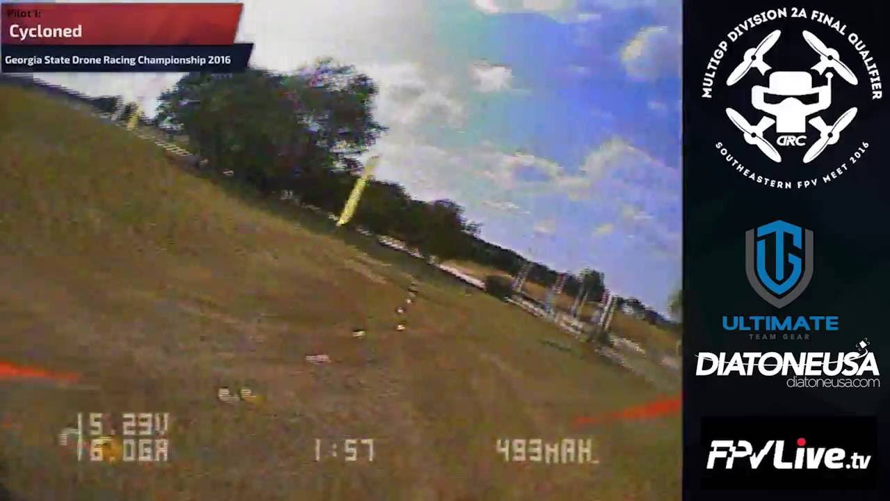 MulitGP Division 2A Final Qualifier at The Southeastern FPV Meet 2016 Round 3 Heat 4