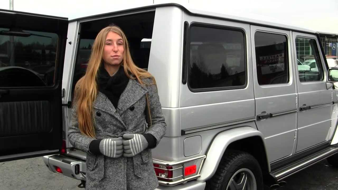 Virtual walk around video of a 2008 mercedes benz g55 amg at nissan of the eastside in bellevue wa youtube