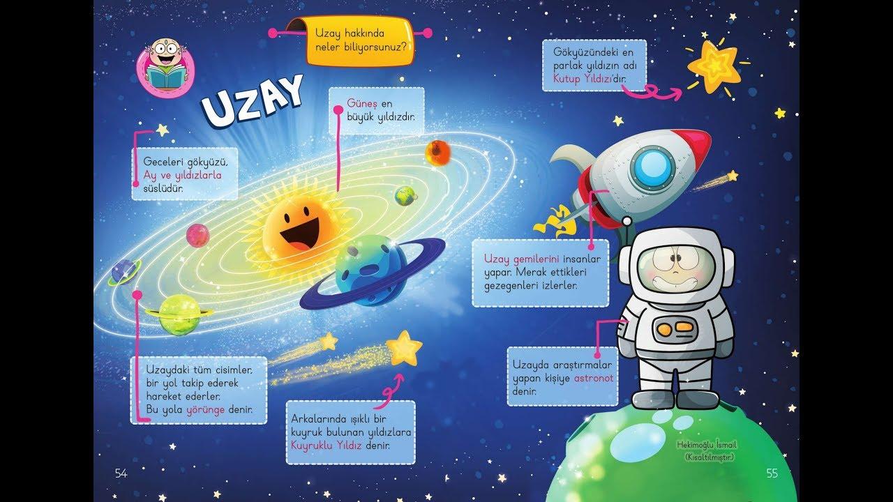 1sınıf Türkçe Ders Kitabı Uzay Metni Etkinlikleri Sesli Anlatımlı