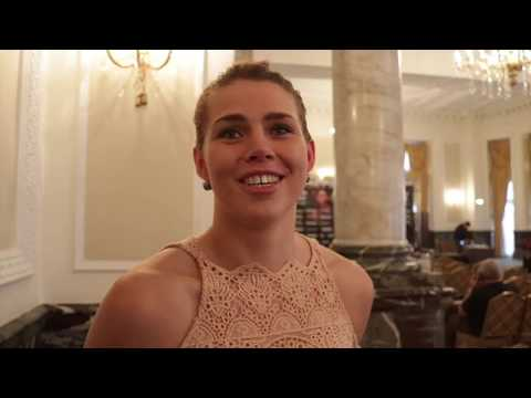 SAVANNAH MARSHALL ON WHY SHE TURNED PRO WITH FLOYD MAYWEATHER / & RELISHES CLARESSA SHIELDS CLASH