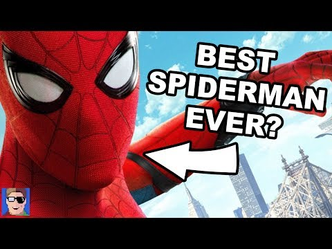 Is This The Best Spider Man Yet? | HOMECOMING REVIEW