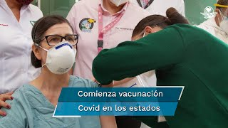 A lo largo de esta jornada del 13 de enero, miles de vacunas de Pfizer-BioNTech contra el Covid se aplicaron desde temprana hora directamente en los hospitales a personal médico de todo el país