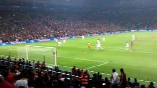 CL- Galatasaray-Real Madrid /Drogba Legend goal -Tribün Çekimi (Stadium Live)