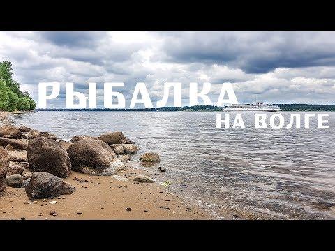 Рыбалка на Волге. ЛЕЩ. Глебово, Ярославская область | Отмечаем мой ДР. Июнь 2019