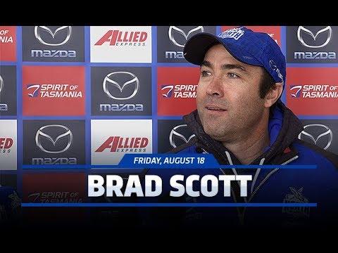 August 18, 2017 - Brad Scott media conference