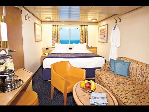 Celebrity Infinity Ocean View cabin 2011 - YouTube
