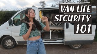 12 Essential Security Tips for Van Lifers & My Personal Experiences Shared