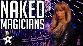 The Magicians that SHOCKED Tyra Banks on America's Got Talent | Magicians Got Talent
