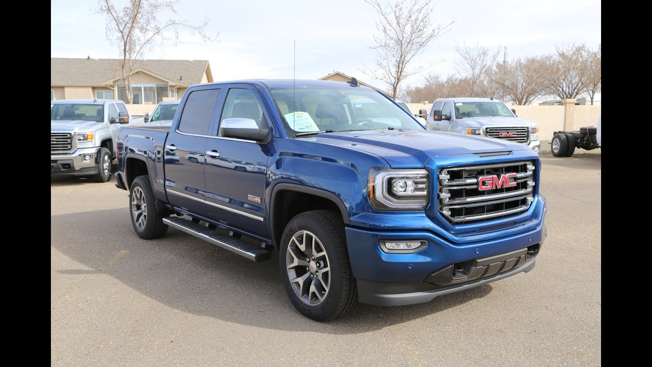 brand new 2016 gmc sierra 1500 slt all terrain for sale in medicine hat ab youtube. Black Bedroom Furniture Sets. Home Design Ideas