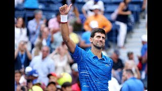 Novak Djokovic vs. Roberto Carballes Baena | US Open 2019 R1 Highlights
