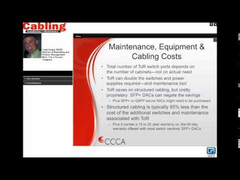 Structured Cabling vs. Top of Rack in the Data Center