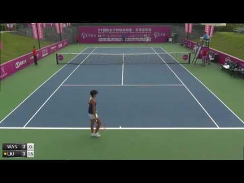 Wang Qiang v Liu Fangzhou - 2016 ITF Shenzhen