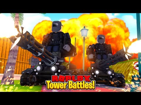THE BEST TOWER IN THE GAME - Roblox Tower Battles