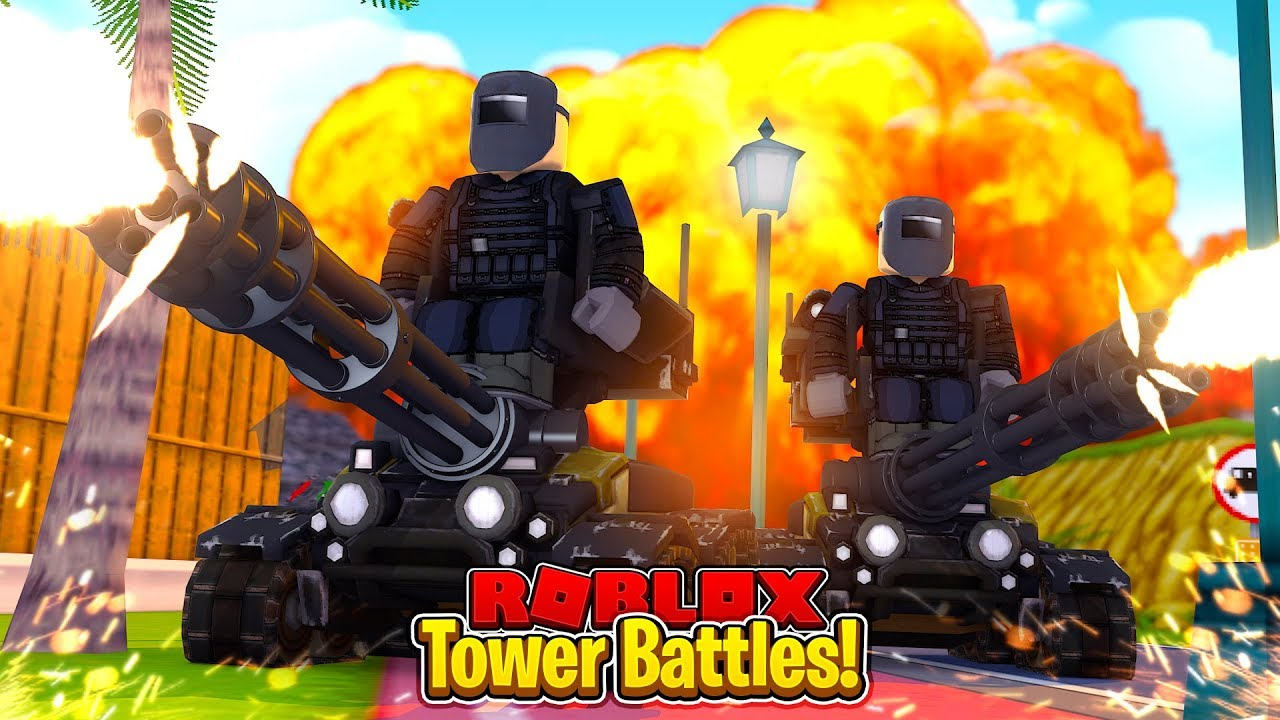 The Best Tower In The Game Roblox Tower Battles Youtube
