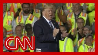 Union workers told to attend Trump speech or lose pay