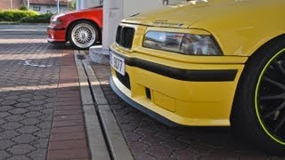 2X BMW M3 - brutal sound, drifts and accelerations! CZECH