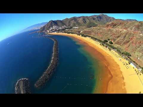 VSC - Playa de Las Teresitas - Santa Cruz de Tenerife HD