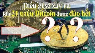 Điều gì sẽ xảy ra khi toàn bộ 21 triệu Bitcoin được đào hết ? | Tài chính 24h