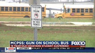 Two guns brought on Mobile County school campuses this week