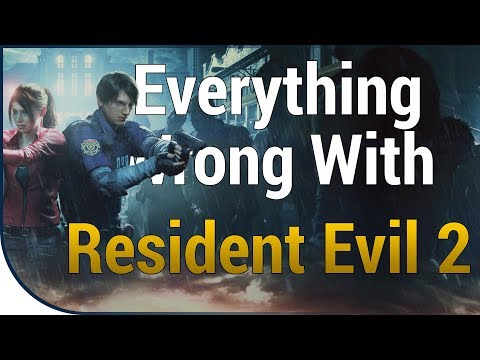 GAME SINS | Everything Wrong With Resident Evil 2