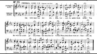 Bach BWV 244 23 Ich will hier bei dir stehen