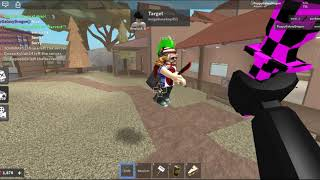Playing a game of KAT in roblox (Kinda ish pro)