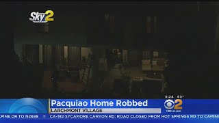 Burglars Hit Larchmont Area Home Of Boxer Manny Pacquiao