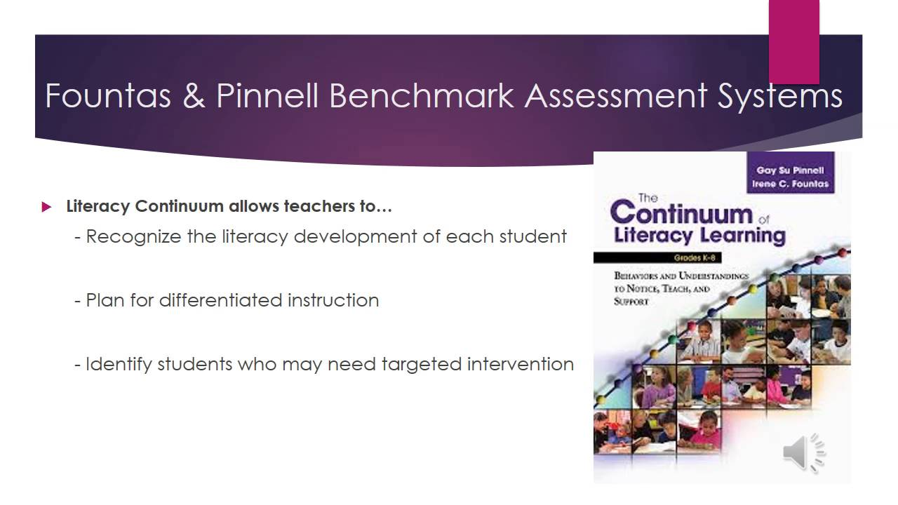 fountas and pinnell The latest tweets from fountas & pinnell (@fountaspinnell) irene c fountas & gay su pinnell are authors of books, videos, & websites that are considered standards in the field of literacy and staff development.