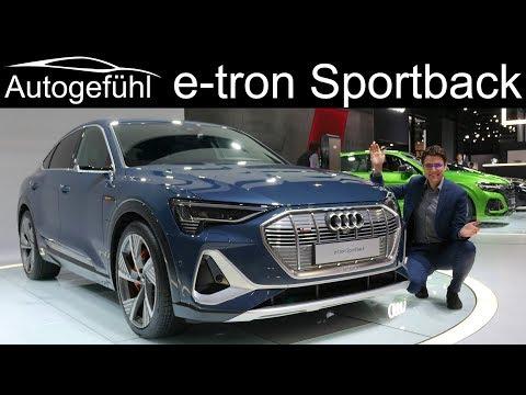 Audi e-tron Sportback Premiere REVIEW @ Los Angeles Motor Show - Autogefühl