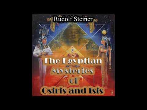 The Egyptian Mysteries Of Osiris And Isis By Rudolf Steiner