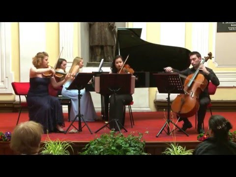 J. Brahms: Piano Quartet in A Major, op.26 no.2 (IV. Finale. Allegro)