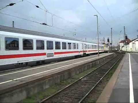 110 328 von Science Express mit IC nach Frankfurt in Leipzig