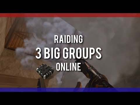 RUSTㆍONLINE RAIDING - 3 Large Groups [DUO]
