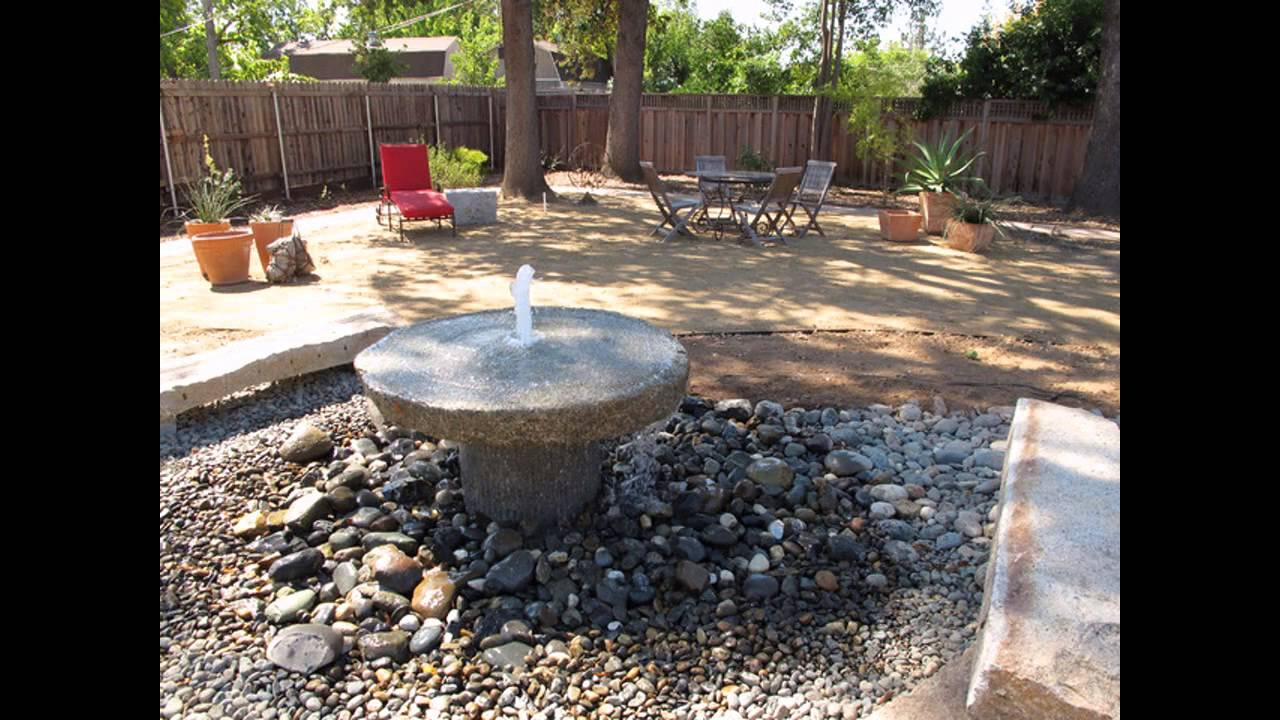 Small Patio Water Features