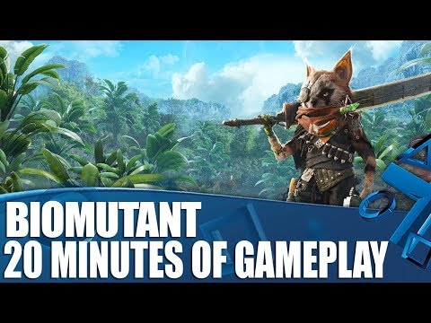 Biomutant - 20 Minutes Of Gameplay