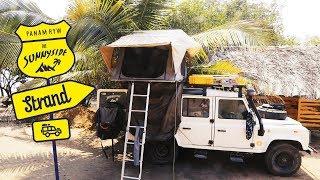 Campen am Pazifikstrand in Mazunte, Mexiko  | S4 • E37