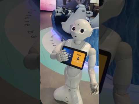 Emirates NBD Robot! Emirates NBD is introducing 'Pepper' , an artificial intelligence robot